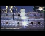 Beamer Projection on M/V Stubnitz // 2012-05-26 - Video Select