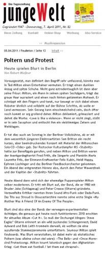 Junge Welt 2011-04-07