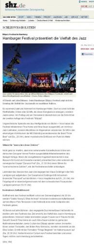 SHZ.de (Schleswig-Holsteinsche Zeitung) 2011-05-26