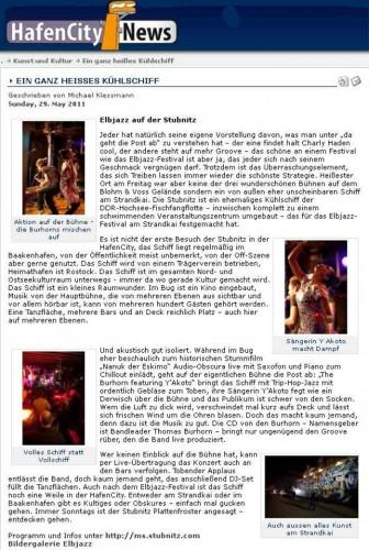 Hafen City News 2011-05-29
