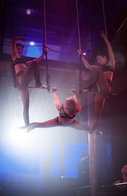 Midnight Circus: photo by Salli