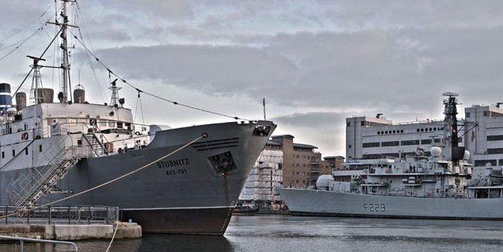 Join Forces: MS Stubnitz and HMS Lancaster