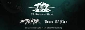 Eruption of Corruption - EP Release Show: Record Release Party, Support: Detraktor, Tears of Fire