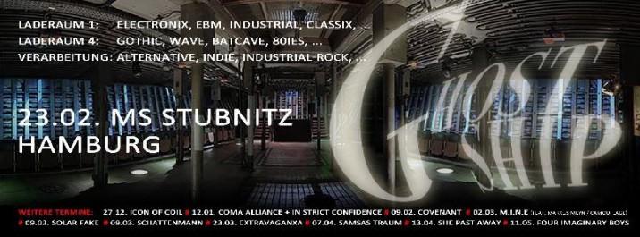 CLUBBING :: GHOSTSHIP: Gothic, Wave, EBM, Industrial, Electro @ 3 Decks
