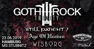 :: EVENT :: Goth Rock Trinity Tour 2019: Wisborg, Age Of Heaven, Still Patient ::: 23. Juni 2019 ab 20:00 Uhr