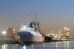 Stubnitz in London 2012: King George V - Dock