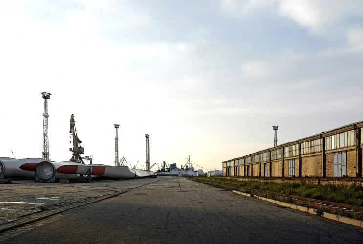Rostock Überseehafen 2009-06-08