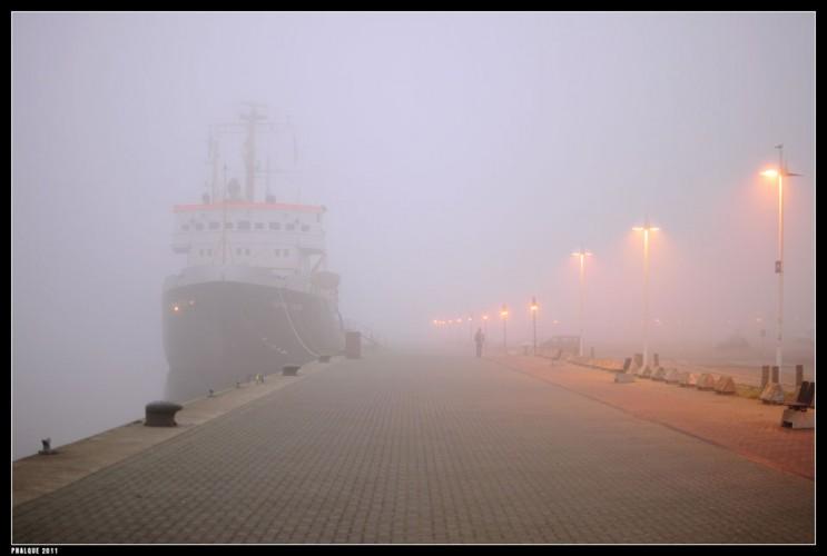 Stephan Jantzen im Nebel