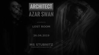 EVENT :: LOST ROOM 4 :: LIVE :: Architect, Azar Swan, Shoeshine ::